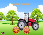 Бакуган на тракторе